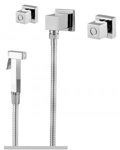 Misturador p/ducha higiênica 1/4 volta 8585 c65 talence