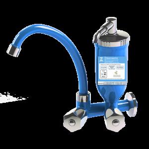 Torneira com filtro azul claro de cozinha abs 1/4 de volta c50 modelo 2167
