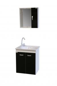 Gabinete para banheiro palermo + kit hidráulico